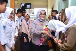 Lies F Nurdin: Siswa CGS harus Jaga Nama Baik Sulsel dan Indonesia