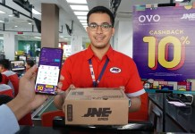 Dompet Digital OVO Mudahkan Pelanggan JNE Lakukan Transaksi