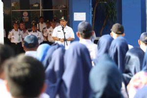 Pj Wali Kota Apresiasi Kedisplinan Dishub Makassar