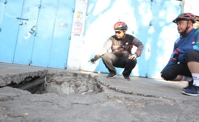 Bersepeda Iqbal Suhaeb Pantau Kebersihan Kota