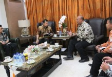 Temui Pj Wali Kota Makassar, KPPU Makassar Sampaikan Program Kerjanya