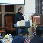 Buka Sosialisasi Pemanfaatan Barang Milik Daerah, Sekprov Tekankan Tertibnya Aset