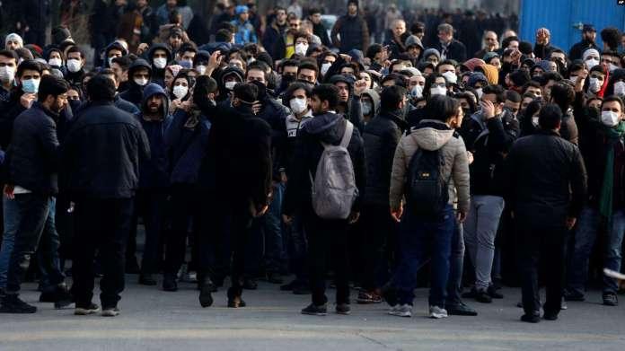Mahasiswa Iran Unjuk Rasa di Empat Universitas