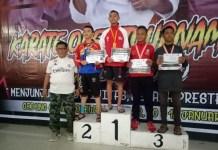 Kontingen Karatedo Gojukai Bukit Baruga Raih 3 Medali