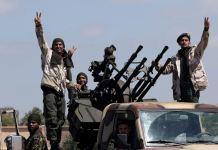 Pertempuran Berkecamuk di Libya untuk Merebut Kota Misrata Barat