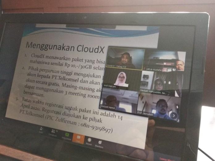 Aplikasi CloudX Telkomsel