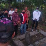Rektor Prof A Rahman dan Tokoh Mahasiswa Unismuh, Ziarah ke Makam KH Djamaluddin Amien di Bantaeng
