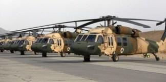 Helikopter Black Hawk Jatuh