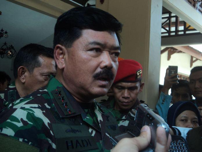 Panglima TNI, Marsekal TNI Hadi Tjahjanto