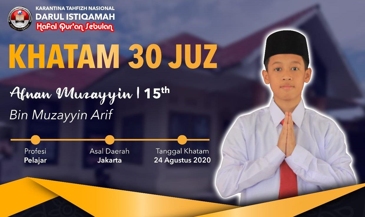Putra Wakil Ketua Dprd Sulsel Berhasil Khatam 30 Juz Al Quran Di Gowa Mediasulsel Com