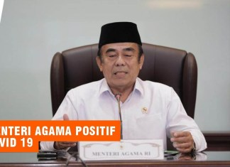 Menteri Agama Fachrul Razi Positif Covid 19