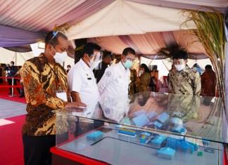 Dilaunching Jokowi, Wagub Sulsel Hadiri Peresmian Pabrik Gula PAG di Bombana