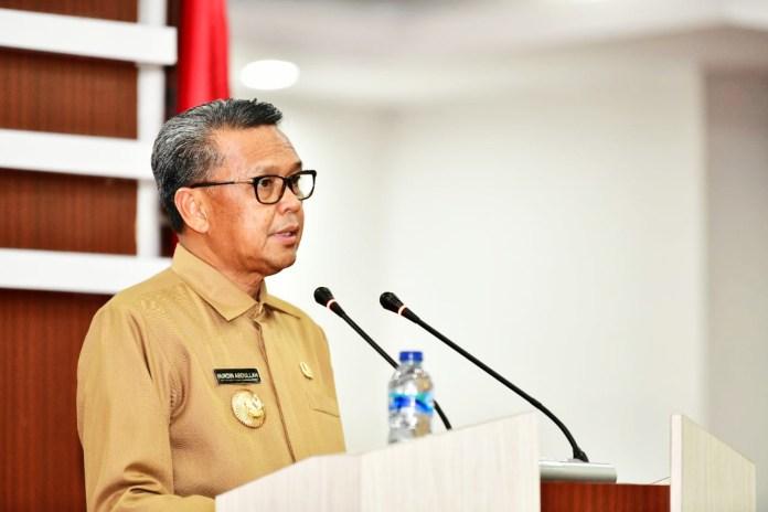 Penjelasan Gubernur atas Nota Keuangan dan Ranperda Sulsel Tentang APBD TA 2021