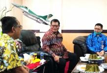 Rektor UNM, Terima Kunjungan Komisaris Independen PT Telkom Indonesia