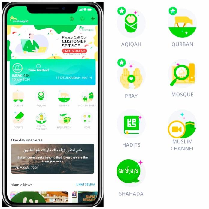 Muslimapp.id Aplikasi Pertama Buatan Indonesia, Menjamin Seluruh Data Base Penggunanya