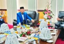 Rektor UNM Terima Kunjungan Rektor Unismuh Makassar