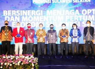 Begini Pesan Wagub Sulsel pada Pertemuan Tahunan Bank Indonesia
