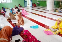 Remaja Masjid Nurul Taufik Rumpa Polman Gelar Pengajaran Spritual
