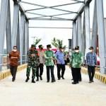 Resmikan Jembatan Sungai Watu, Gubernur: Mendorong peningkatan kesejahteraan masyarakat