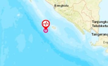 Gempa Berkekuatan 6,5 Guncang Bengkulu