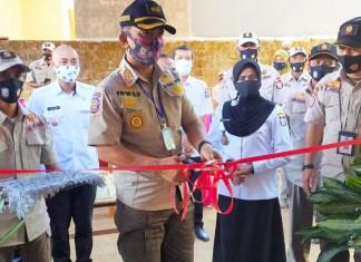 Komandan Satuan (Dansat) Perlindungan Masyarakat (Linmas) Satpol PP Kota Makassar, Irwan, SE, MM