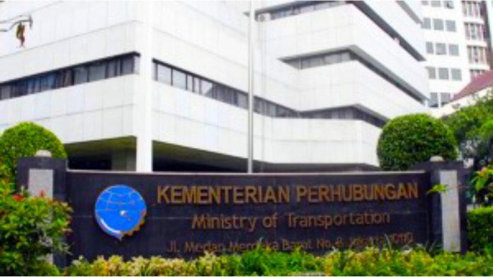 Gedung Kementerian Perhubungan RI. (foto: Setkab)