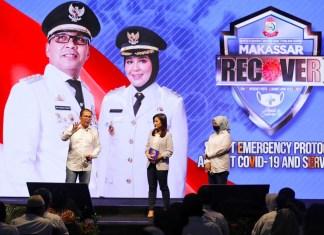 Danny-Fatma Resmi Launching Makassar Recover, Libatkan Seluruh Elemen Masyarakat