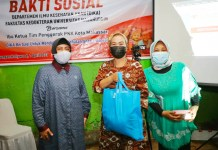 Baksos Kolaborasi TP PKK Makassar dan Departemen Ilmu Kesehatan Anak FK Unhas