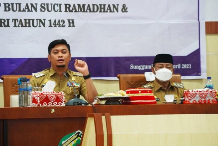 Bupati Adnan Harap Harga dan Ketersediaan Bahan Pokok Selama Ramadhan Tetap Aman