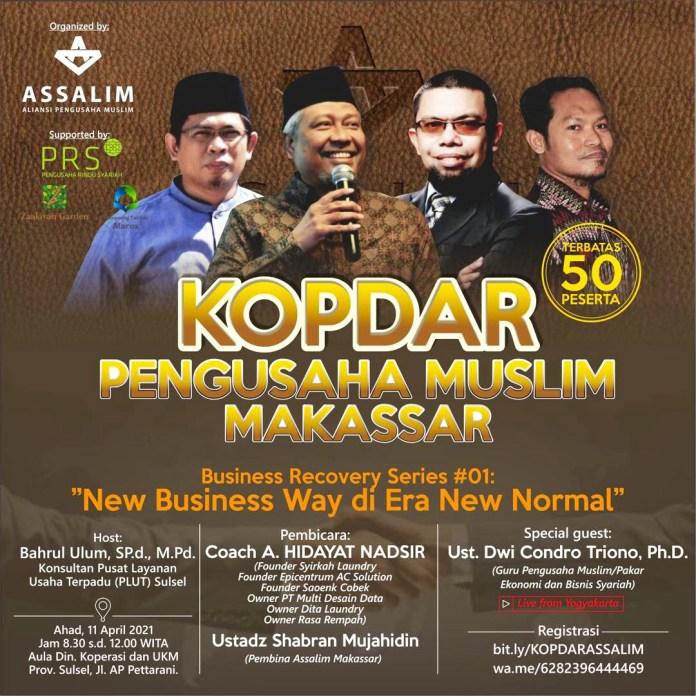 Assalim Makassar Gelar Kopdar Pengusaha Muslim