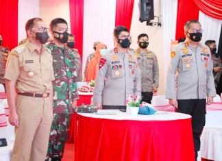 Kapolda Sulsel Ikuti Launching Aplikasi SIM Nasional