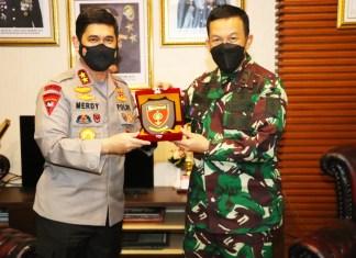 Pangdam XIV/Hasanuddin Silaturahmi Ke Polda Sulsel