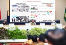 "Kuker Ke Makassar, Mendagri RI Sebut Wali Kota Danny ""Strong Leader"""