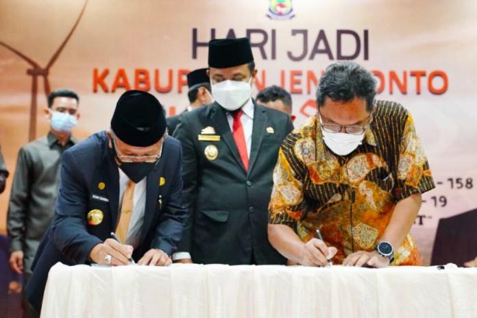 PKS bersama Dirut Pelindo, Plt Gubernur: Kita Akan Bangun Dry Port Sebagai Hub di Jeneponto