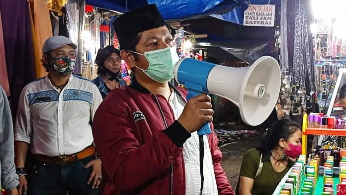 PD Pasar Makassar Massifkan Aturan Prokes di Pasar Senggol