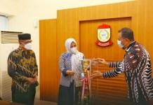 Fatmawati Rusdi Apresiasi Pelatih Official Hantar Kafilah Makassar Juara Umum STQH ke 32 Sidrap