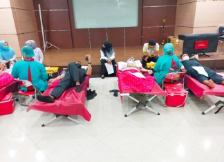 Bapenda Sulsel laksanakan Donor Darah