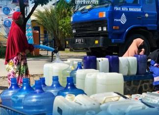 PDAM Makassar Siapkan Air Mobil Tangki Gratis untuk Warga Untia