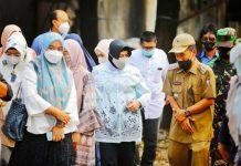 Indira Yusuf Ismail & Tim IAI Tinjau Lokasi Rencana Pembangunan TK/PAUD Manggala