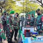 Asops Kasad Periksa Kesiapan Satgas Pamtas Mobile Yonif Para Raider 431/SSP