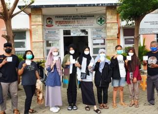 Aktif Terlibat Kegiatan Sosial, Relawan Muda Birma Peduli ikut di Vaksin
