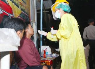12 Pelanggar Prokes Saat PPKM Level III di Gowa Langsung Diswab PCR