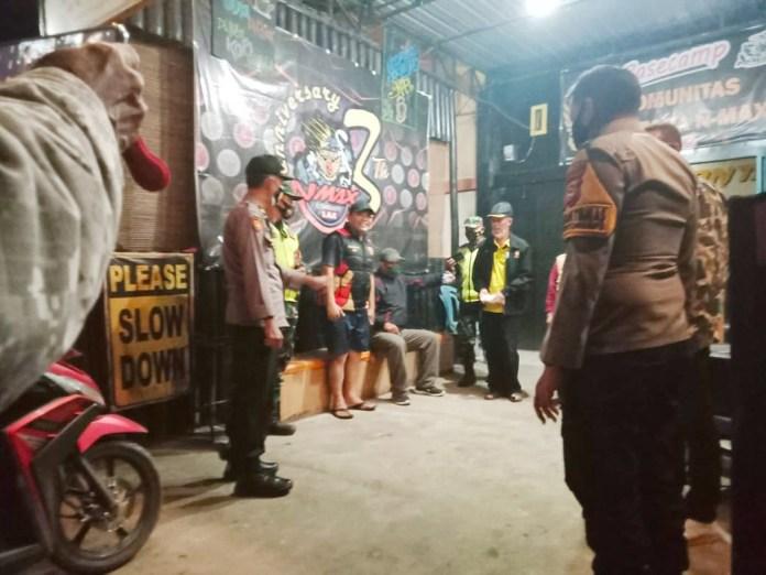 Personil Gabungan Imbau Pemilik Warkop & Warung Makan Patuhi Aturan PPKM