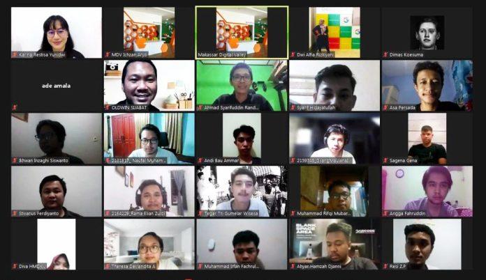 UX Researcher Startup Titan Tokopedia Hadir di Online Class Creavision MDV