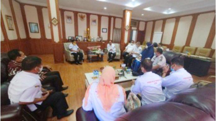 Kadisdik Sulsel Terima Kunjungan Kepala Sekolah dan Pengawas KPSP