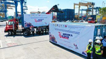 Pelabuhan petikemas Soekarno Hatta Makassar