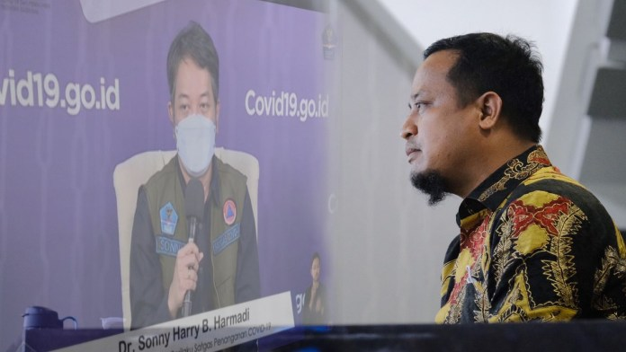 Kiat Andi Sudirman Tangani Covid-19 di Sulsel Disanjung Ketua Perubahan Perilaku Satgas Covid-19 BNPB