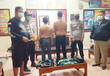 Polsek Manggala Amankan 2 Pemuda Mengaku Mahasiswa Bawa Sajam dan Busur