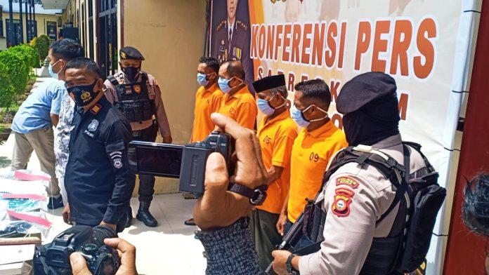 Polisi Berhasil Ringkus Empat Terduga Pelaku Pembunuhan di Gowa