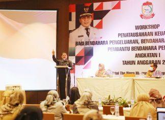 Workshop Penataan Keuangan Bagi Pengelola Keuangan Daerah Lingkup Kota Makassar